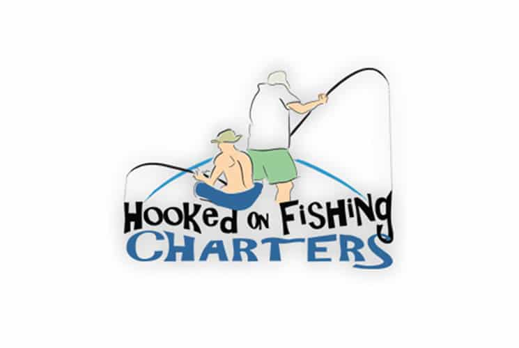 Hooked on Fishing Charters Logo