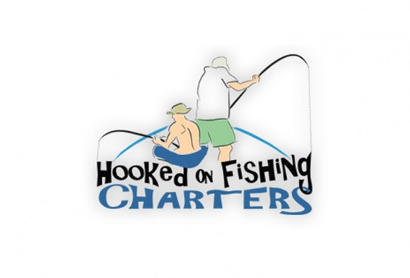 Hooked on Fishing Charters Logo