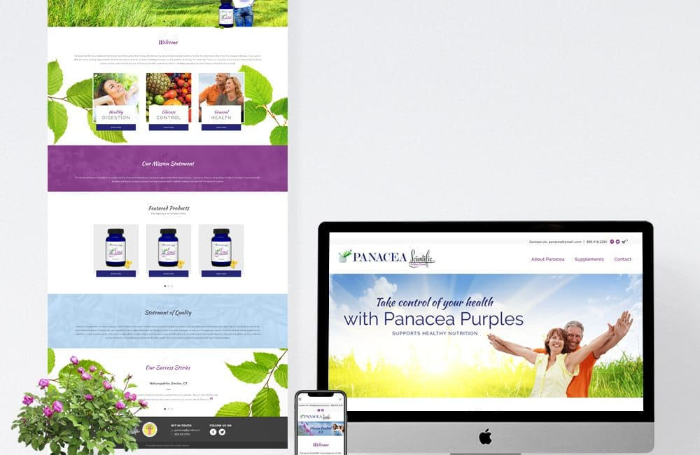 Panacea-Mockup-Website