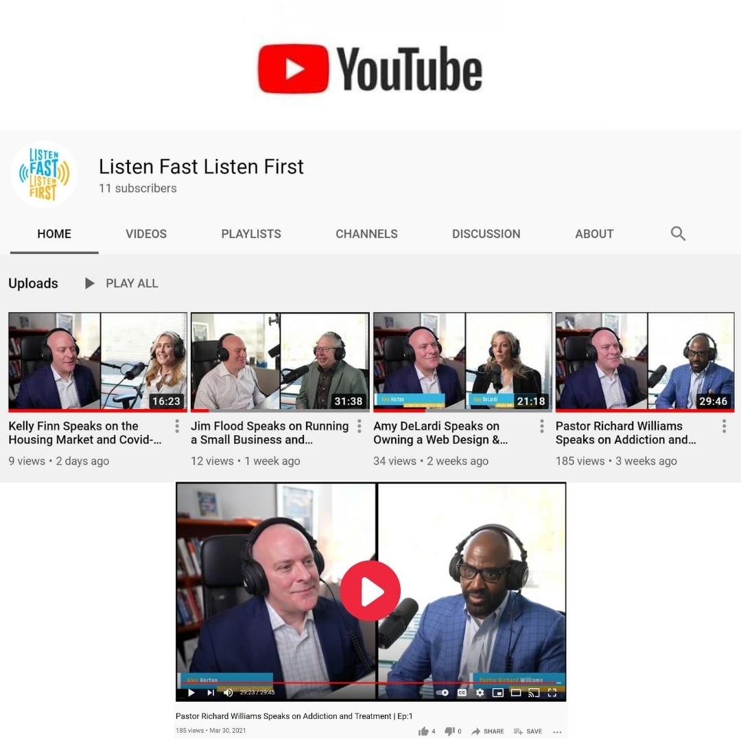 Listen Fast Listen First Podcast