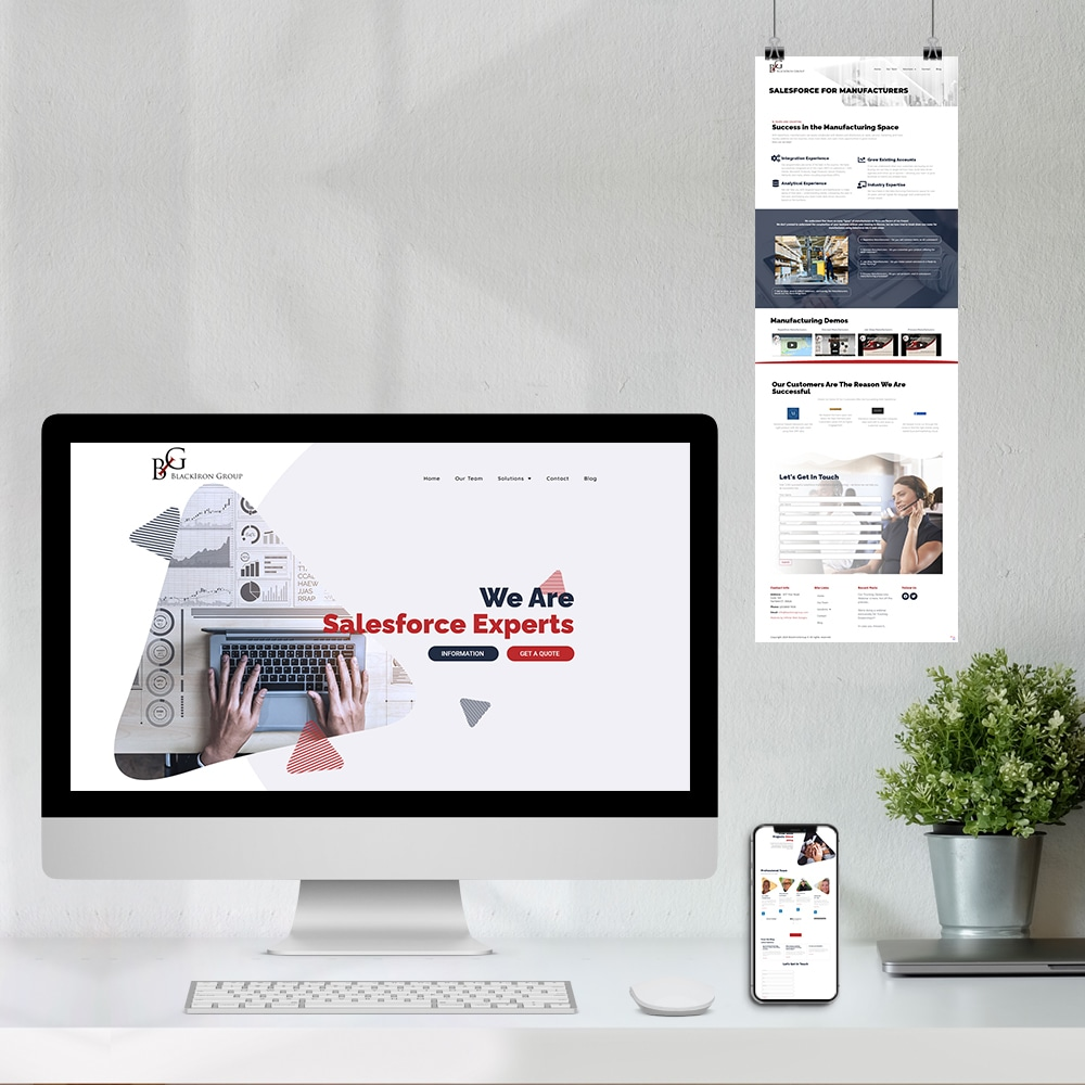 Web Design for Consulting Firm